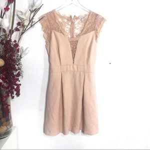 bcbg • lace dress
